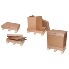 Heat Treated Pallet Containers