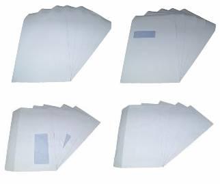 Envelopes - White Self Seal