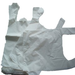 White Vest Plastic Carrier Bags