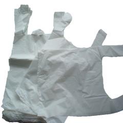 White Vest Plastic Carrier Bags