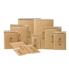 Jiffy Airkraft Gold Bubble Envelopes